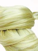 Struttura dei capelli biondi — Foto Stock