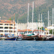 Marmaris resort turkish town landscape — Stock Photo