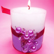 Spa aroma scented candle — Stock Photo #9711732