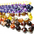 Group of semiprecious beads — Foto Stock
