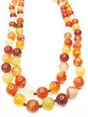 Ljusa semigem pärlor smycken — Stockfoto