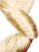 Uczesanie ciemny blond włosy — Zdjęcie stockowe