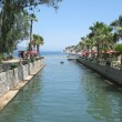 River canal in sea resort — Stock Photo #9882308