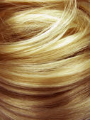 Dark blond hair texture background — Zdjęcie stockowe