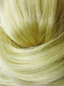 Blond włosy tekstura tło — Zdjęcie stockowe
