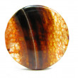 Red agate semigem mineral crystal - Stok fotoraf