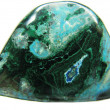 Chrysocolla semigem mineral crystal - Stock Photo