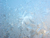 Snowflakes rexture winter background — Stock fotografie
