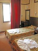 Hotel room accommodation — Stock Photo