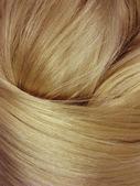 Parlak siyah saçlı doku arka plan — Stok fotoğraf