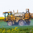 Foto Stock: Crop spraying