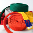 Karate Belts — Stock Photo #9610684