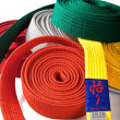 Karate Belts 2 — Stock Photo #9610720