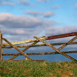 Stock Photo: Old Farm Gate