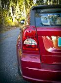 Red car — Foto Stock