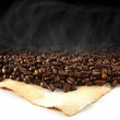 Coffee background — Stock Photo #10009842