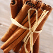 Stock Photo: Cinnamon on table