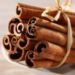 Cinnamon macro — Stock Photo