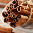 Decoration of cinnamon — Stock Photo