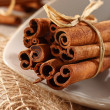 Stock Photo: Brown cinnamon