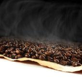 コーヒーの味と煙 — ストック写真