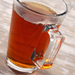 Stock Photo: Single glass of warm drink