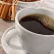 Stock Photo: Coffee and cup