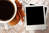 照片和咖啡 — 图库照片