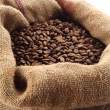 Sack with coffee — Stockfoto