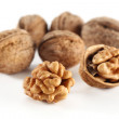 Walnuts fruits - Stock Photo