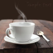 Cup of tea or coffee — 图库照片