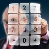 Select Your number — Stock Photo