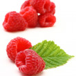 Stock Photo: Composition of red fruits - raspberry