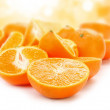 Orange fruits concept — Stok Fotoğraf #9705419