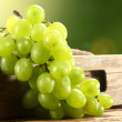 Foto de Stock  : Green grapes