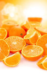 Orange fruits concept — Stock Photo