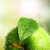 Grüner apfel — Stockfoto