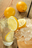 Water in glass — Stock Photo
