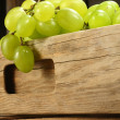 Grapes in box — Stock Photo