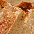 Macro photo of bread — Stok fotoğraf