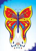 Butterfly poster — Stockvektor