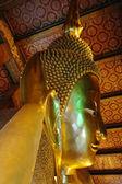 The Golden statue of Buddha. — Stock Photo