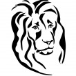 Stock Vector: Lion . icons .