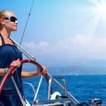 Yacht Sailing — Stock Photo