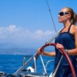 Yacht Sailing — Stock Photo #10603797