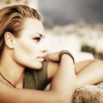Stylish Portrait Of Beautiful Model — Stock Photo