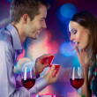 Stock Photo: Valentine's Day. Marriage Proposal