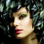 Fashion Art Portrait. Makeup — Stock Photo #10605419
