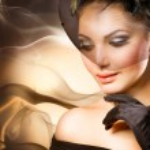 Luxury Woman Portrait — Stock Photo