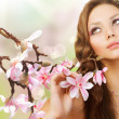 Beautiful Spring Girl — Stock Photo #10605696